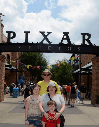 Walt Disney World Hollywood Studios Pixar Studios Adams Family