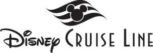 Disney Cruise Line Black Logo