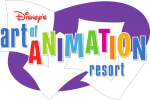 Disney's Art of Animation Resort Logo