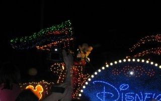 Walt Disney World nighttime parade