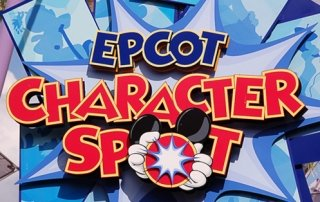 EPCOT Character Spot at Walt Disney World
