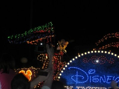 Walt Disney World nighttime parade