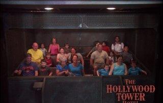 Riding Tower of Terror at Hollywood Studios Walt Disney World
