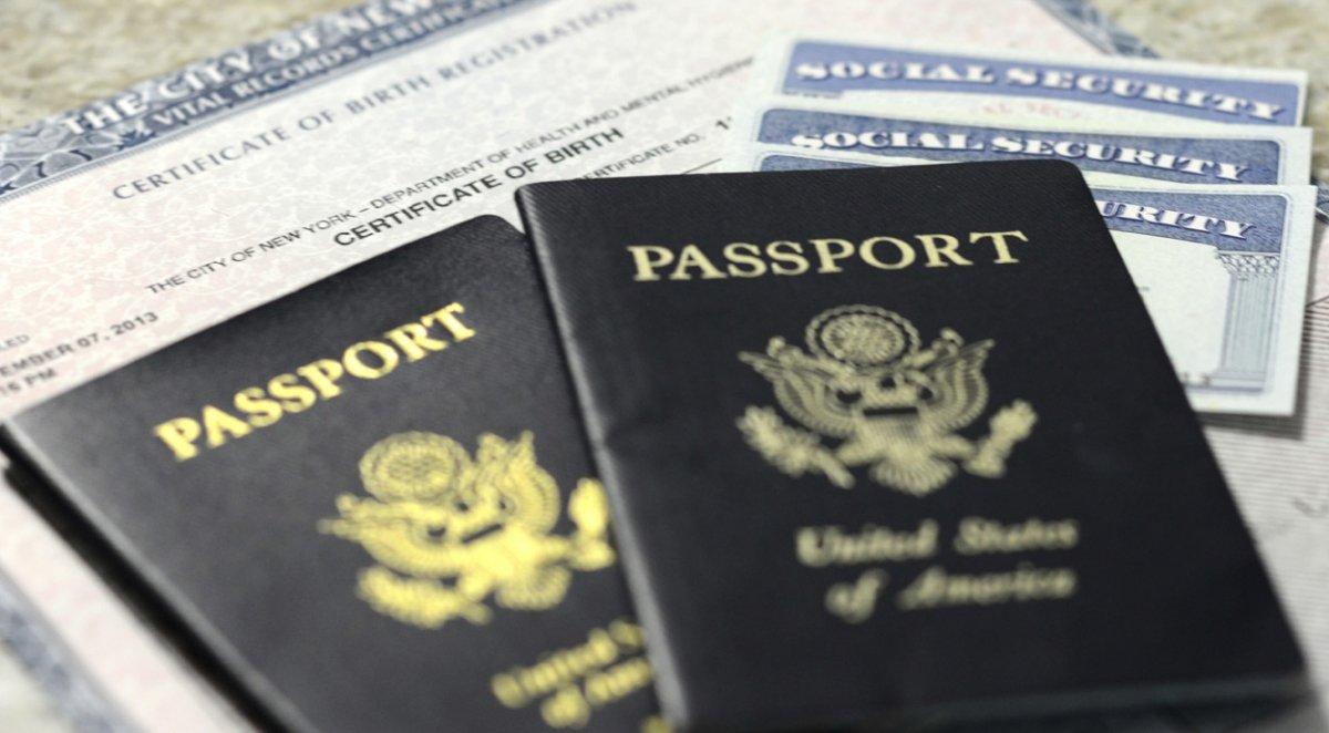 Passport and Birth Certificate