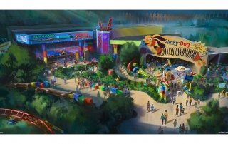 Toy Story Land Concept